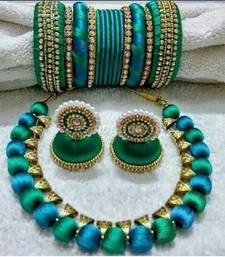 Beautiful Silk thread Necklace