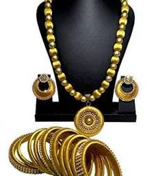 ac7ecbed63 Silk Thread Jewellery – Shop Latest model silk Jewelry Sets Online