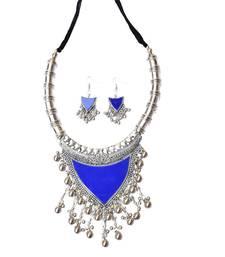Oxidized Metal Set Colored Blue