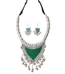 Oxidized Metal Set Colored Green