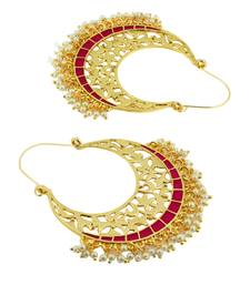 Buy Gold studded jewellery studs party-jewellery online