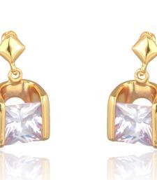 Buy Gangji Jewels Gold Alloy Stud Earrings For Women Earring online