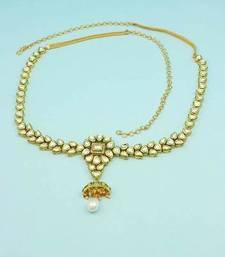 Buy Clear Vilandi Kundan Waist Belt Kamar patta Jewellery for Women waist-belt online
