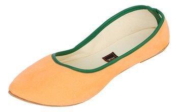 Orange Women's Mojaris