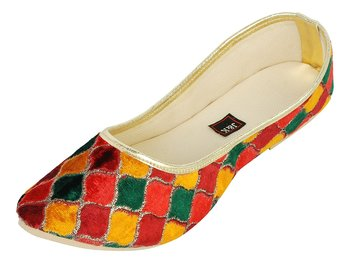 Multi Coloured Women's Mojaris