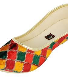 Buy Multi Coloured Women's Mojaris footwear online