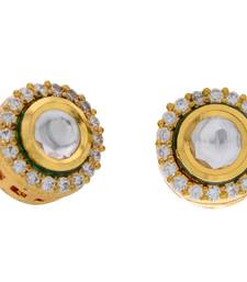 Buy ANTIQUE KUNDAN STONE STUDDED STUDS stud online