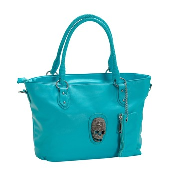 Dodger Blue Tote Bag