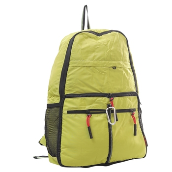 Solid Green Multipurpose Folding Bag