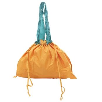 Tangy Orange Multipurpose Folding Bag
