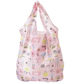 Sweet Pink Shade Contemporary Folding Bag