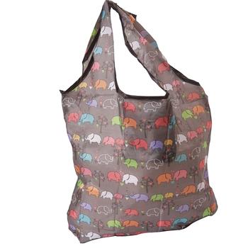 Contemporary Brown Shade Folding Bag