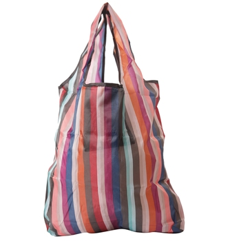 Stripes Patterened Multicolor Folding Bag