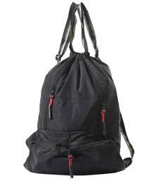 Buy Elegant Solid Black Shade Folding Bag backpack online
