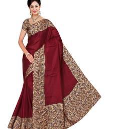 Buy Multicolor printed manipuri silk saree with blouse manipuri-silk-saree online