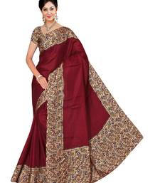 Buy Multicolor printed manipuri silk saree with blouse women-ethnic-wear online