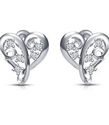 Buy White cubic zirconia earrings simulated-diamond-earring online