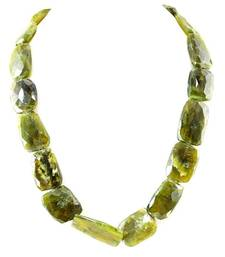 Buy Green Moss Agate Gem stone Necklace gemstone-necklace online