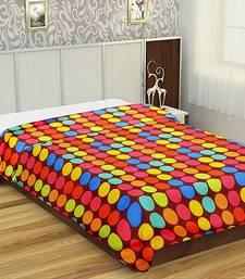 multicolour polka print  ploycotton dohar