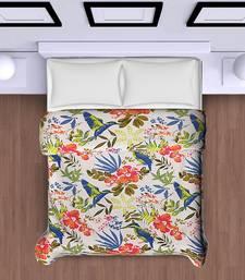multicolour  floral print  polycotton dohar