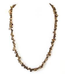 Buy Smoky Quartz Gem stone Necklace gemstone-necklace online