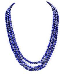 Buy Blue Lapis Lazuli Gem stone Necklace gemstone-necklace online