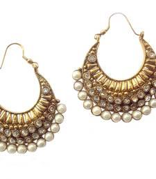 Buy Ethnic Pearl Polki Earring by Adiva ansatocoo46 tds1 women-ethnic-wear online