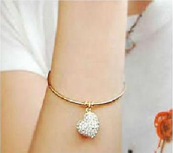 Morcrest Golden Heart Bracelet