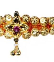 Kolhapuri Traditional Gold Choker Thushi Necklace