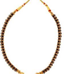 Kolhapuri Golden Brass Thushi Necklace