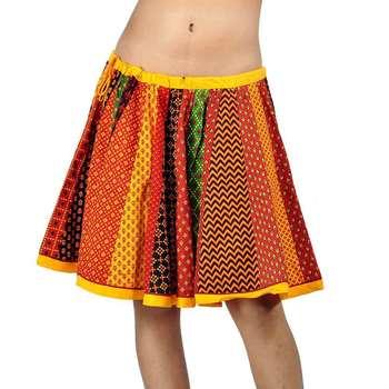 Rajasthani Multicolor Colour Exclusive Cotton Skirt