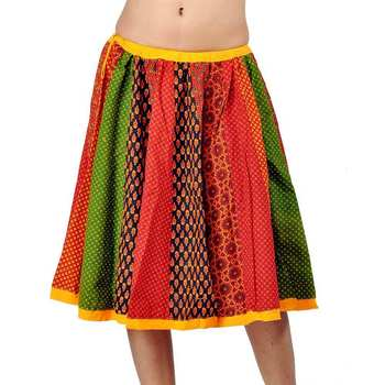 Jaipuri multicolor Color Pure Cotton Lehanga Skirt