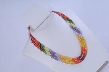 Multicolour Bead Necklace