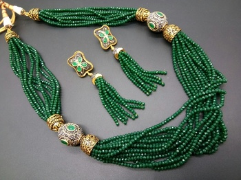 adc14e71c94 Green pearl necklace-sets - Satyam Jewellery NX - 2360886