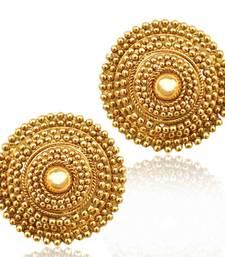 South Indian golden flower ethnic