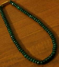 Green Onyx Single Line Necklace