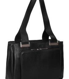 Abeeza modern city genuine leather handbag for women