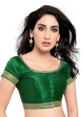green banglory lace unstitched blouse