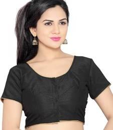 black banglory lace unstitched blouse