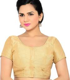 gold banglory lace unstitched blouse