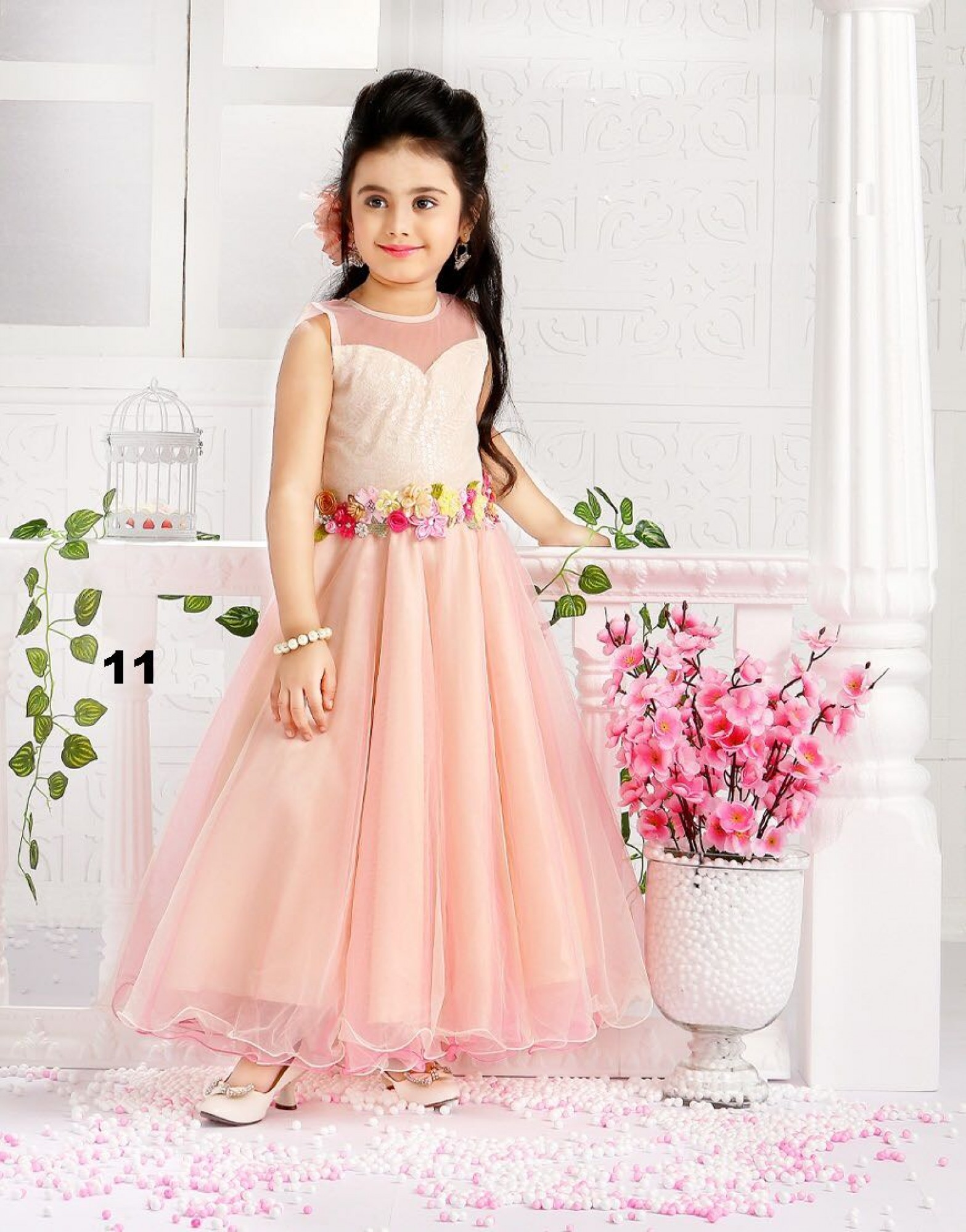 97c924752 Gowns for Girls - Buy Indian Kids Gown Online