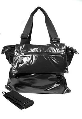 Just Women - Fascinating Black PU Leather Handbag