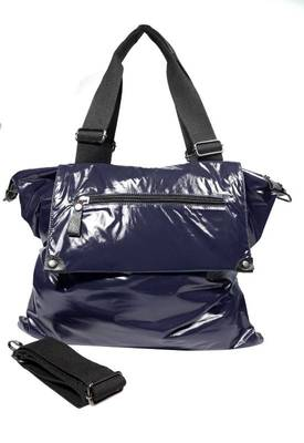 Just Women - Classy Indigo Colour PU Leather Handbag