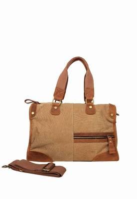 Just Women - Stylish Tuscan Earth Canvas Handbag