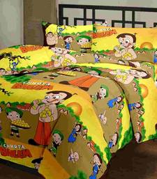eCraftIndia Chota Bheem Kids Single Bed Reversible AC Blanket