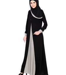 Buy Grey premium nida stitched abaya  Reaymade Abaya online