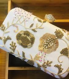 Buy Designer handwork zardosi box clutches clutch online
