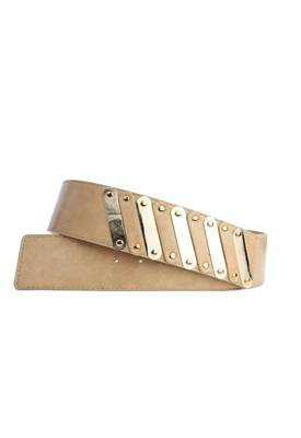 Just Women - Stylish Burlywood Womens Leather Belt