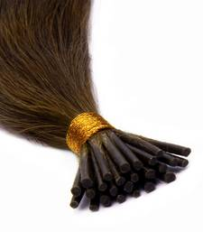 Buy Keratin Pre-bonded Stick Tips (I) Remy Bleached Human Hair 22 inches Colour no. 27 wig online