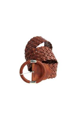 Just Women - Charming Saddle Brown Womens Leather Belt